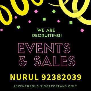 NO EXPERIENCE REQUIRED; Sales