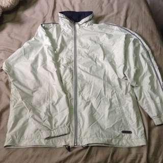 Vintage Oversized Asics Windbreaker Jacket