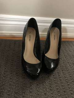 Heels from spring - size 6