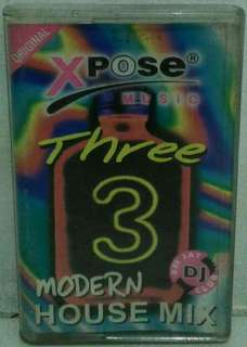 Kaset Pita : XPose Music - Three 3 Modern House Mix