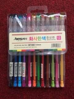 Assorted Gel Pens Set