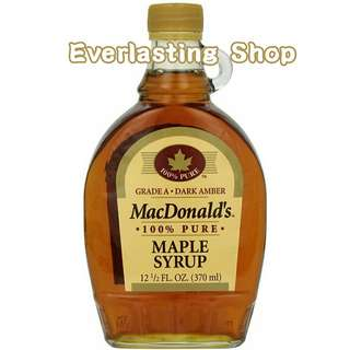 Mac Donald's MC Donalds Maple Syrup Sirup Manis Minuman Gula Product of Canada