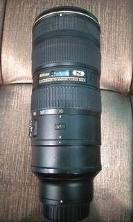 Nikon 70-200mm 2.8G VR II