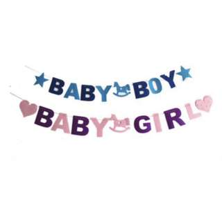 Promotion : Baby Girl / Boy Banner