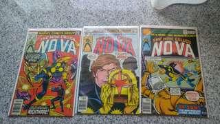 NOVA bronze age comics