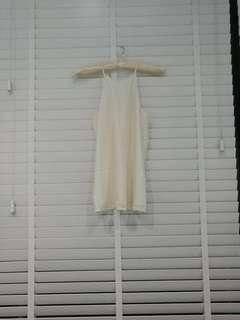Marcs white silk top