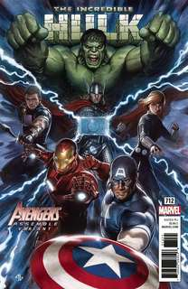 Marvel The Incredible Hulk Issue 712# Avenger Movie Theme Variant Comic