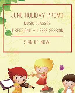 Music class June holiday promo