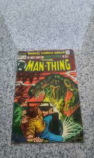 Man Thing #4 marvel bronze age