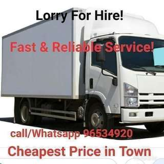 Transport Service for Moving House or Moving Things