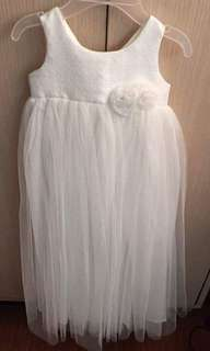 Baptismal dress for baby girl