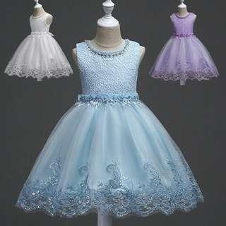 Gown flower girl kids