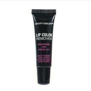 Lip color remover