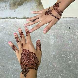 Henna for Raya