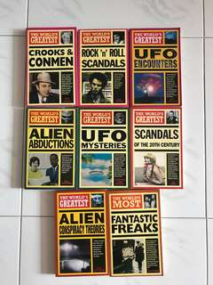 The world's greatest series (ufo, aliens etc)