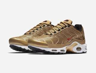 Selling NIKE Air Max Plus in Gold
