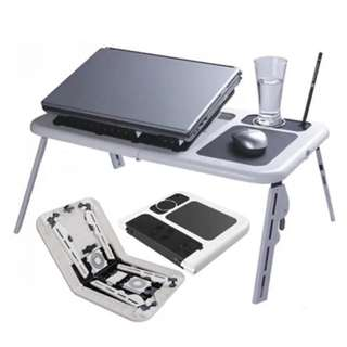 Adjustable Portable cooler laptop desk