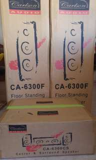 Carlson speaker (CA-6300f)(CA-6300CS)FULL SET