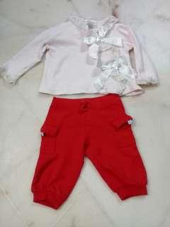 NB Baby girl clothing