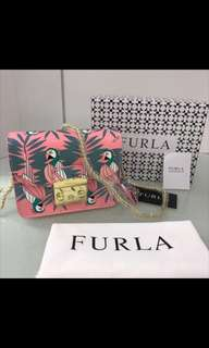Tas furla motif jungle