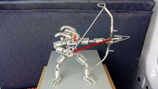 Wire Art - Preadator figure
