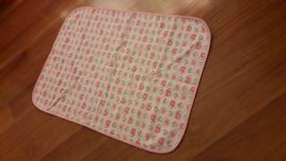 Water-proof mattress protector/diaper changing mat