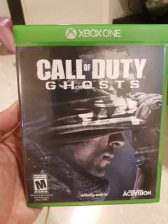 Xbox One Game, Call Of Duty , Ghosts