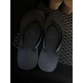 專櫃購入 havaianas 厚底 拖鞋 havaianas 非 小厚底 havaianas 拖鞋 哈瓦仕 拖鞋 6公分