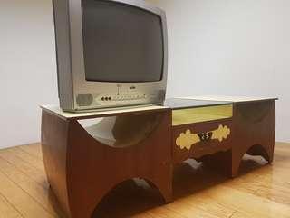 古色古香原木電視櫃
