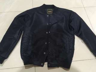 bomber jaket navy maternal disaster original