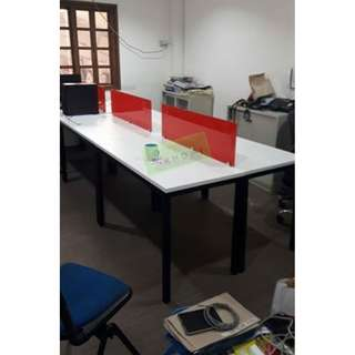 LINEAR WORKSTATIONS - 6 SEATER--KHOMI