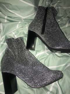 Sparkly Sock Boots