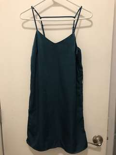H&M Blue Slip Dress