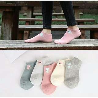 Cute Cat Ankle Socks