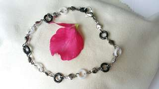Fine Ceramic fused with stainless steel bracelet,精瓷不銹鋼手鏈