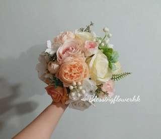 絲花花球 新娘花球 結婚花球