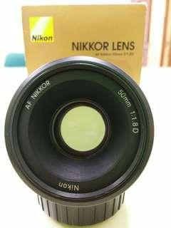 AF Nikon 50mm F1.8D