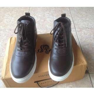Brodo Zenith Dark Brown Ukuran 42 - Leather Boot