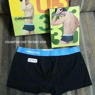 Celana Dalam Pria CHAMPIRO Boxer 0330 sekotak isi 3pcs
