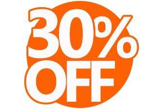 ONLY 30% OFF❗️