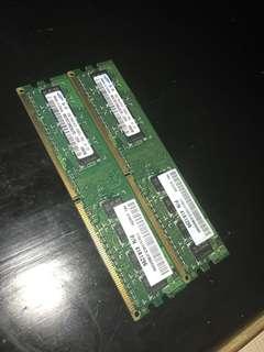 Samsung PC RAM 1GB x 2