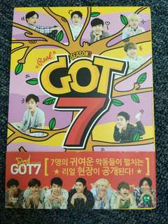 GOT7 Real GOT7 Season 3 + GOT2Day CD