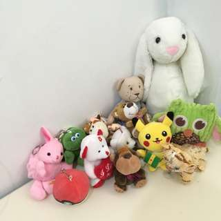 Bundle Stuffed / Keychain / Wallet Toys