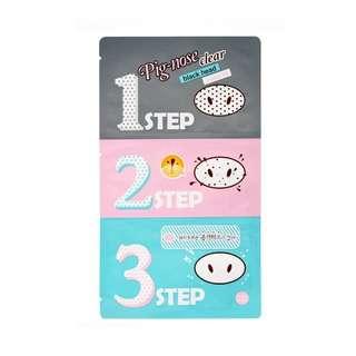 Pig Clear Black Head 3-Step Kit (21g)