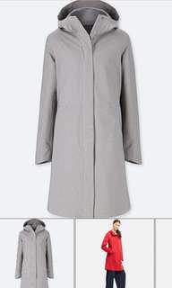 Uniqlo BNWT blocktech parka women jacket in GREY