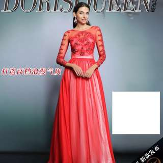 Size M/L/XL   UK8/10/12   Sale! Clearance sale dress! Discontinued stock! Evening gown, prom dress, DND dress, ROM dress - NIC033 Instock V1