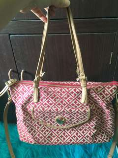 Authentic Tommy Hilfiger 2-way bag