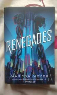 Renegades by Marissa Meyer (YA Novel)