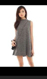 Tweed swing dress