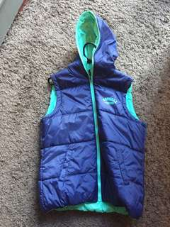 Russell athletic women's puffer vest